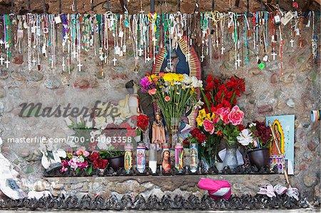 Sanctuaire, El Santuario de Chimayo, Chimayo, Nouveau-Mexique, États-Unis