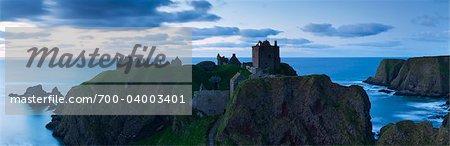 Ruines du château de Tantallon, Lothian, Scotland