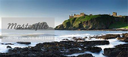 Ruines du château de Dunnotar, Stonehaven, Écosse