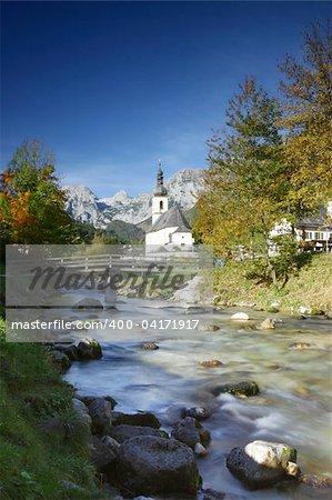 Beautiful scene in Bavaria