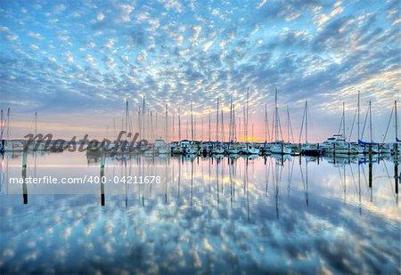 port a quiet evening