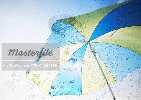 Parasol and bubbles