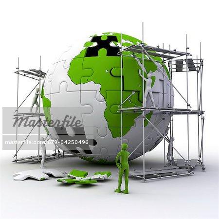 Globus-Bau