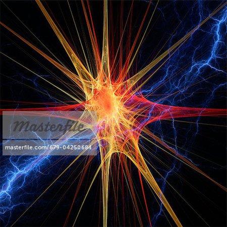 Nervenzelle, Kunstwerk