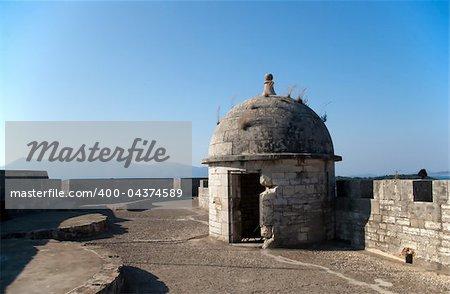 ancient greek fortress in Kerkyra