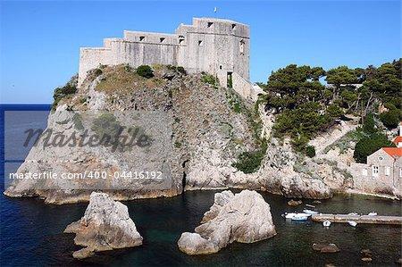 Fortress Lovrjenac in Dubrovnik old town, Croatia