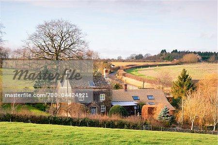 Farmhouse, Cotswolds, Gloucestershire, England, United Kingdom