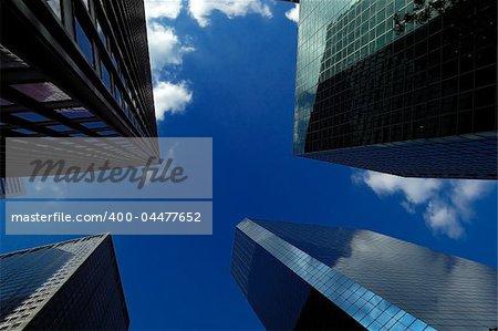 Lower Manhattan office buildings