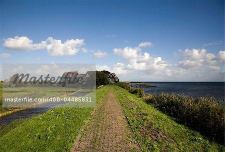 Dutch village on the Island Marken