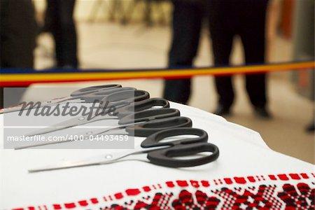 inauguration of a public administrative place in Romania