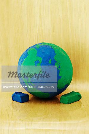 Plasticine Earth
