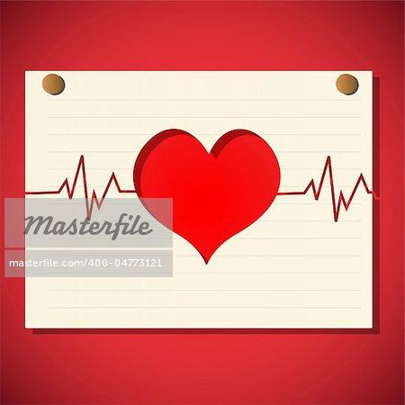 illustration of healthy heart