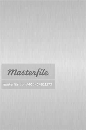 Shiny silver brushed steel background