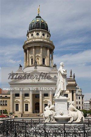 The French Cathedral, Gendarmenmarkt, Berlin. Architects: Carl von Gontard