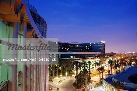 A view of the Anaheim Convention Center in Anaheim, CA.