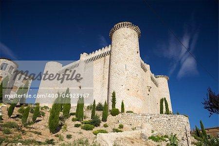 castle of Torija at Guadalajara in Castilla Spain
