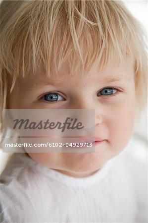Porträt von Mädchen smile