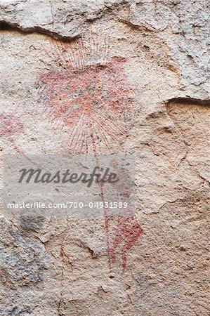 Rock Art, Akakus Desert, Fezzan, Libya