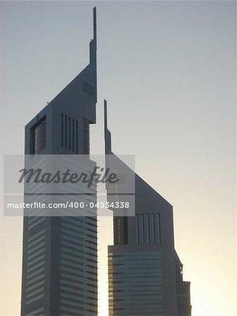 Emirates Towers in Dubai, UAE