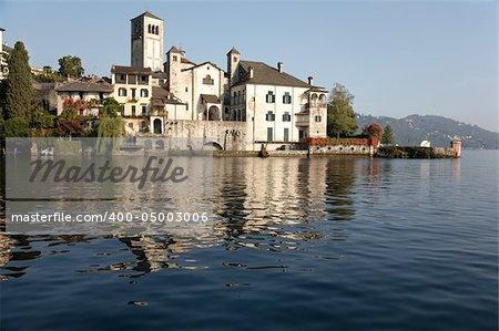 San Giulio Island (Isola di San Giulio) is an island within Lake Orta in Piedmont, northwestern Italy Wiki: http://en.wikipedia.org/wiki/Isola_San_Giulio