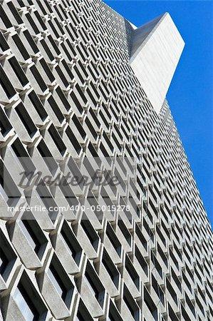 High rise building taken from below