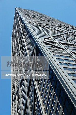 skyscraper downtown chicago