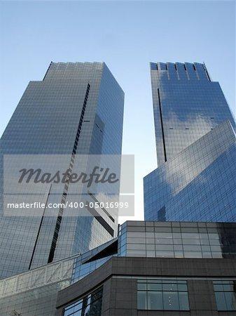 Time Warner Towers in Manhattan, New York City