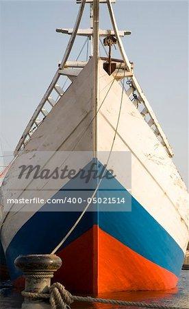 The bow of a schooner - Sunda Kelapa, Jakarta
