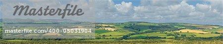 Cornwall countryside near fowey.