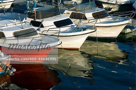Sports port of Santander, Cantabria (Spain)
