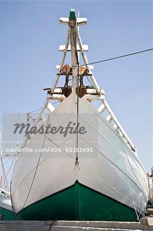 Makassar schooner (pinisi) in Sunda Kelapa
