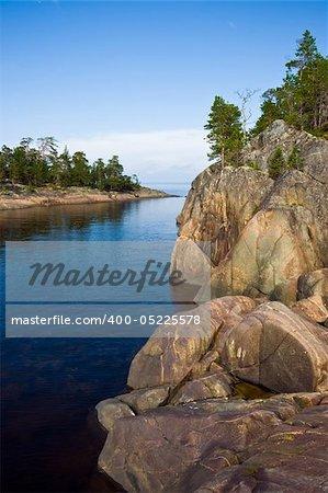 Kiy island in the Onega Bay of the White Sea, Russia