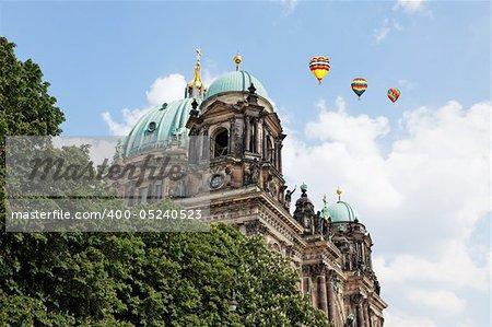 the Berliner Dom in Berlin City Germany