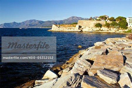 Detail of Saint -Florent, Corsica