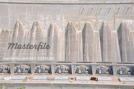 Hydro Dam at Niagara Falls