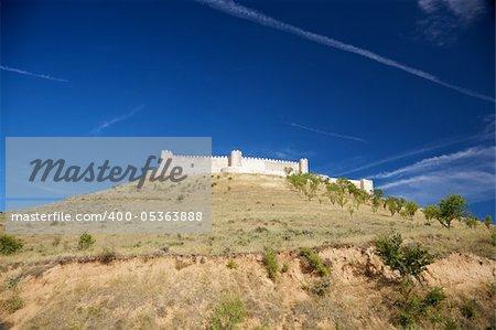 castle of Jadraque at Guadalajara in Castilla Spain
