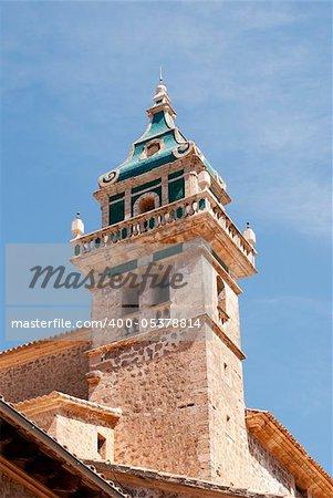 The Valldemossa Charterhouse (Spanish: Real Cartuja de Valldemossa, translatable as: Royal Carthusian Monastery of Valldemossa) is a former Carthusian monastery in Valldemossa, Majorca