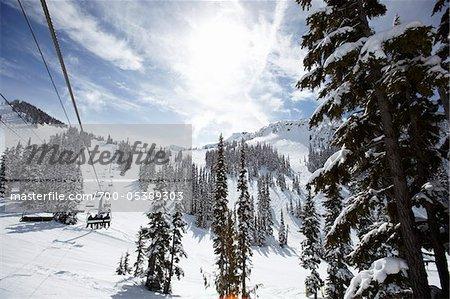 Ski Lift, Whistler Mountain, Whistler, British Columbia, Canada