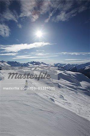 Ski Hill, Whistler Mountain, Whistler, British Columbia, Canada