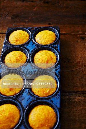 Pain de maïs Muffins