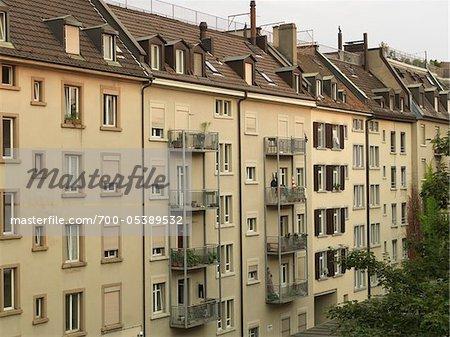 Immeuble d'habitation, Zurich, Suisse