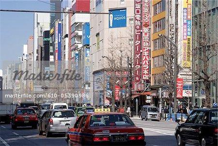 Japan, Tokyo, Akihabara, electronic shops