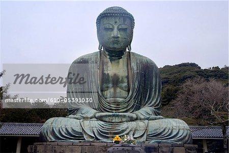 Japon, Kamakura, dainutsu (Bouddha)