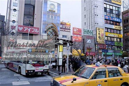 Japon, Tokyo, Nakano, shopping arcades