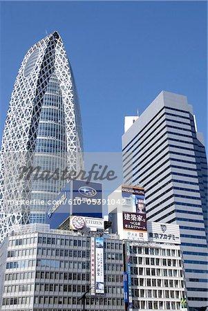 Japon, Tokyo, Shinjuku, tour de cocoon