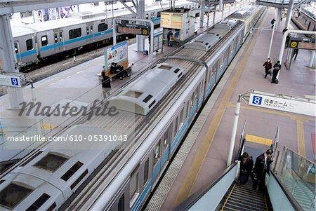 Japan, railroad