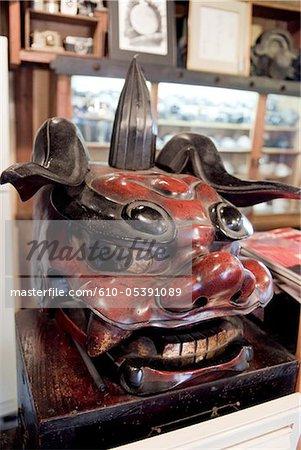 Japan, Gotemba, mask