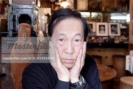 Japan, Gotemba, photographer