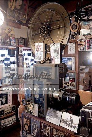 Japan, Gotemba, shop of a photographer