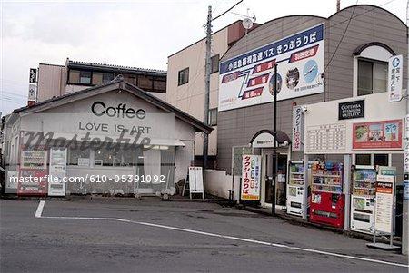 Gare routière de Gotemba, Japon